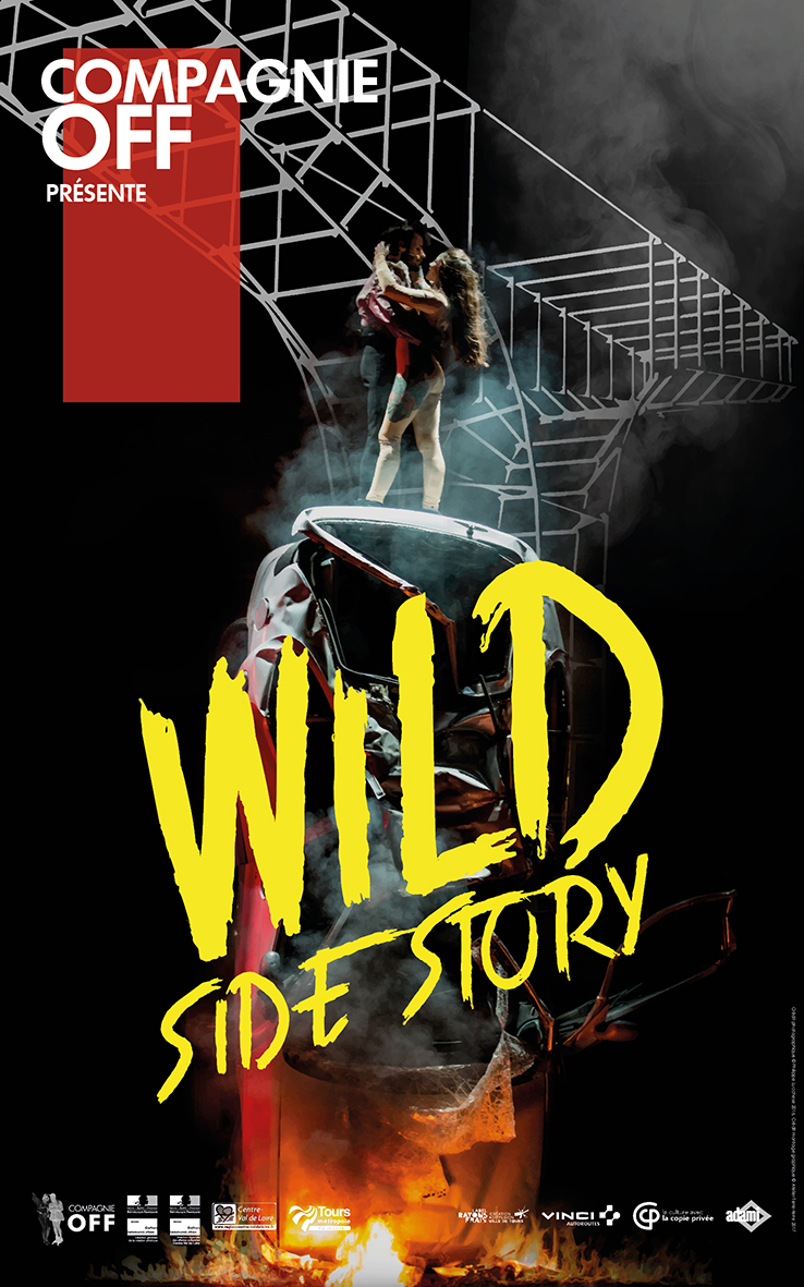 Affiche finale WEST SIDE STORY - Aurillac - 150ppp